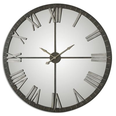 Metallic Large Decorative Wall Clocks