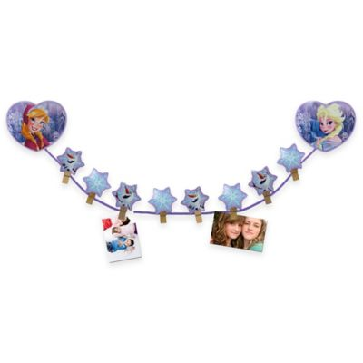 "Disney® ""Frozen"" Clip Photo Holder in Purple"