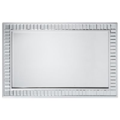 angelo:HOME Marlowe 36-Inch x 54-Inch Rectangular Accent Mirror