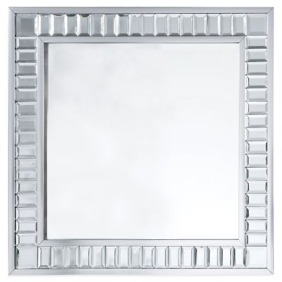 angelo:HOME Marlowe 33-Inch Square Accent Mirror