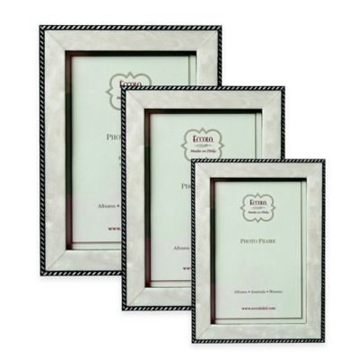 Eccolo™ Modern Anniversary 8-Inch x 10-Inch Marquetry Picture Frame