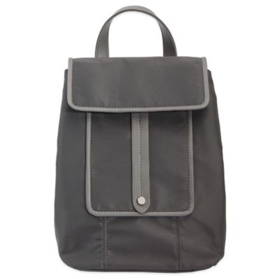 Evie Bett Lana Insulated Snack Size Cooler in Charcoal