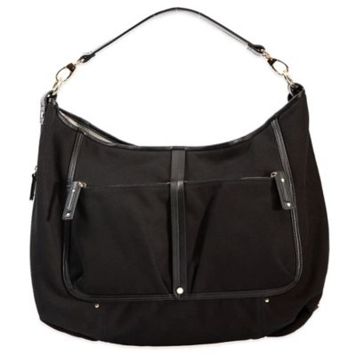 Evie Bett Lana Diaper Bag in Black