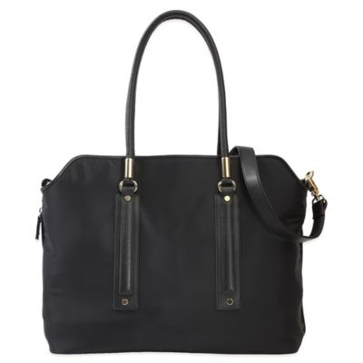 Evie Bett Ava Diaper Bag in Black