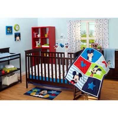 Disney® Mickey Mouse 3-Piece Crib Bedding Set