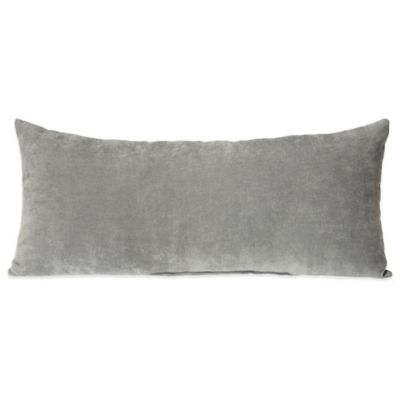 Glenna Jean Swizzle Rectangular Bolster in Grey