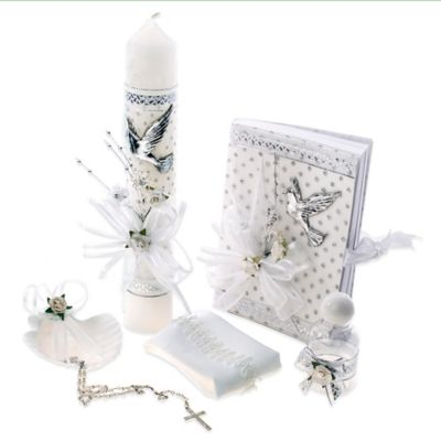 6-Piece Holy Spirit Baptism/Christening Gift Set