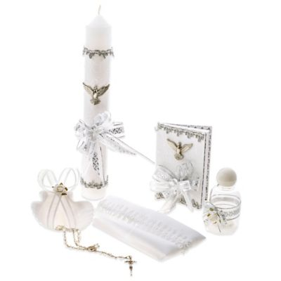 6-Piece Holy Spirit Mi Bautizo/Baptism/Christening Gift Set