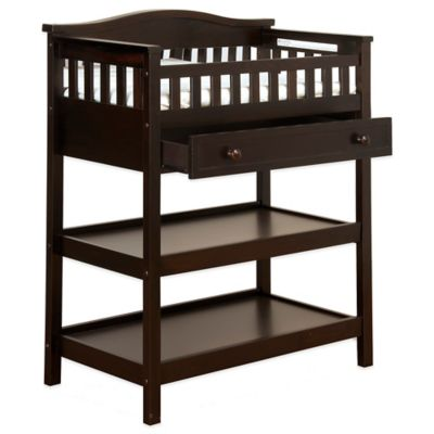 Child Craft™ Watterson Deluxe Changing Table in Jamocha