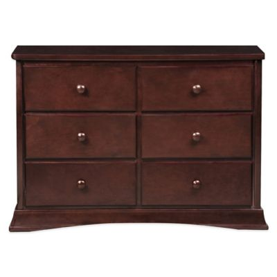 Delta Bentley 6-Drawer Dresser in Black Cherry Espresso