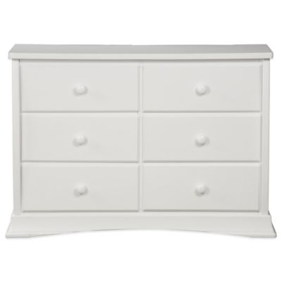 Delta™ Bentley 6-Drawer Dresser in White