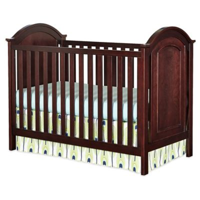 Westwood Designs Harper Cottage Convertible Crib in Chocolate