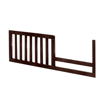 Westwood Designs Harper Pine Toddler Rail in Chocolate
