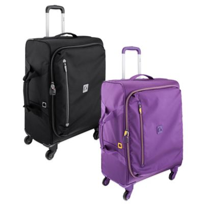 DELSEY Solution 23-Inch Spinner Trolley in Purple