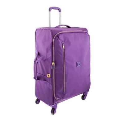 DELSEY Solution 28-Inch Spinner Trolley in Purple