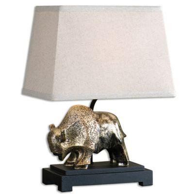 Uttermost Ayani Gold Buffalo Table Lamp
