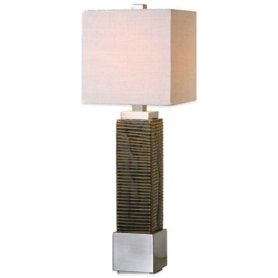 Uttermost Jernigan Table Lamp in Bronze Glass