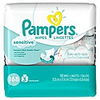 Pampers® 168-Count Sensitive Baby Wipes 3x Travel Pack