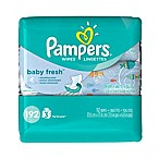 Pampers® 192-Count Baby Wipes 3x Travel Pack in Baby Fresh