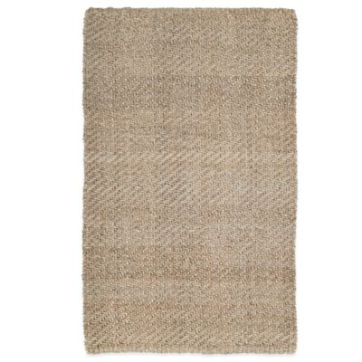 Kaleen Essentials Twill 1-Foot 8-Inch x 2-Foot 6-Inch Rug in Natural