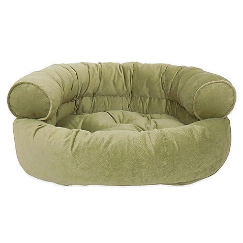 Orthopedic microvelvet comfy couch large pet bed Comfy couch dog bed