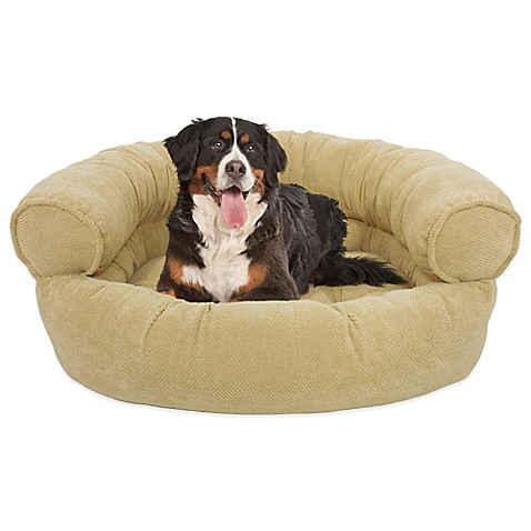 Buy Orthopedic Microvelvet Comfy Couch Large Pet Bed In Wet Sand From Bed Bath Beyond