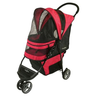 Regal Pet Stroller in Raspberry