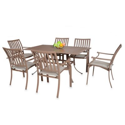 Panama Jack Island Breeze 7-Piece Outdoor Dining Set