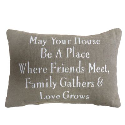 The Vintage House by Park B. Smith® Family Gathering Tapestry Oblong Throw Pillow