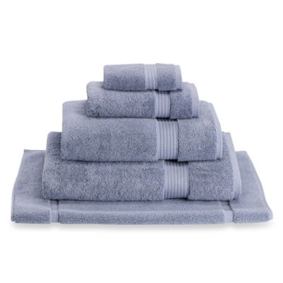 Egyptian Artistry Bath Towel in Frozen Blue