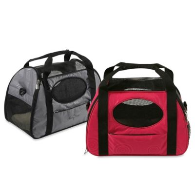 Carry-Me Fashion Medium Pet Carrier in Grey