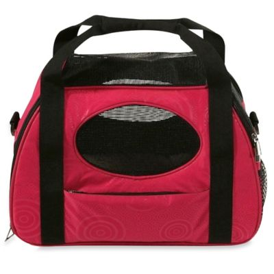 Carry-Me Fashion Medium Pet Carrier in Raspberry