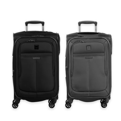 DELSEY Helium Pilot 3.0 21-Inch Carry On Spinner in Black