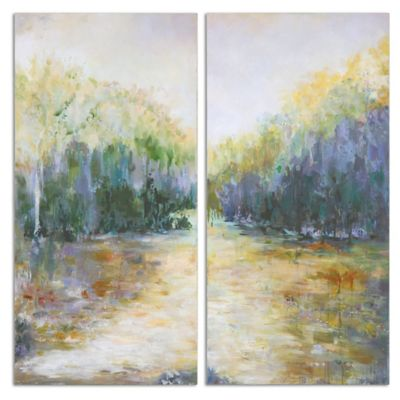 Uttermost Summer View Landscape Art (Set of 2)