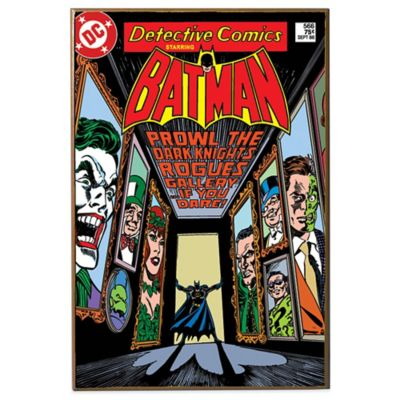 "Batman ""Prowl the Dark Knight's Rogue Gallery"" DC Comic Book Cover Wall Décor"