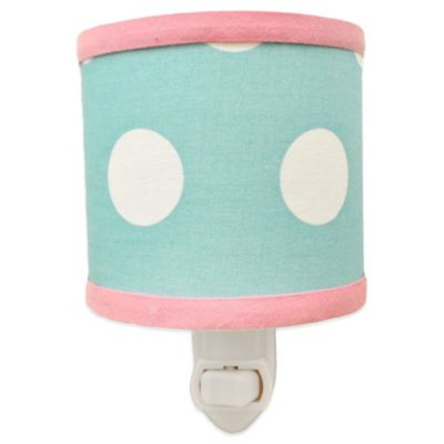 My Baby Sam Pixie Baby Nightlight in Aqua