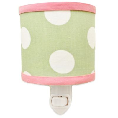 My Baby Sam Pixie Baby Nightlight in Pink/Green
