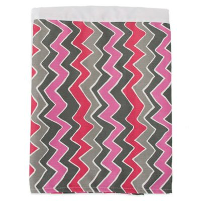 Glenna Jean Addison Zig Zag Stripe Twin Bed Skirt