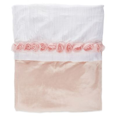 Glenna Jean Anastasia Twin Duvet Cover in Pink/White