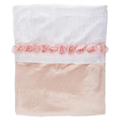 Glenna Jean Anastasia Full/Queen Duvet Cover in Pink/White
