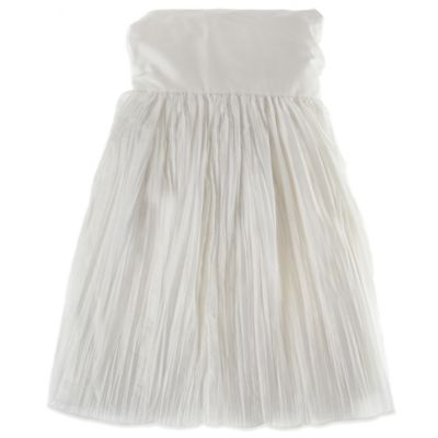 Glenna Jean Anastasia Full Bed Skirt in White