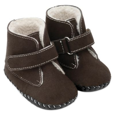 pediped® Originals Size 12-18M Henry Boot in Brown