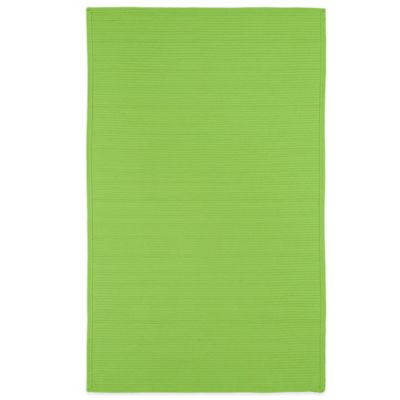 Green Brown Indoor / Outdoor Rug