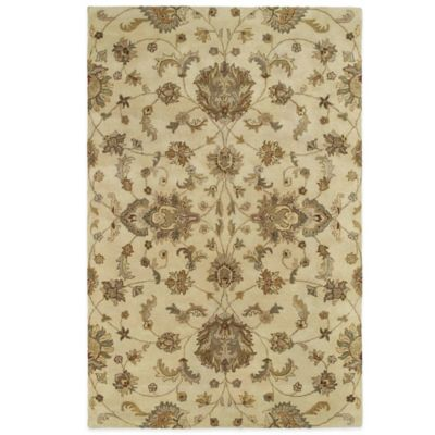 Kaleen Mystic-Europa 3-Foot 6-Inch x 5-Foot 3-Inch Rug in Ivory