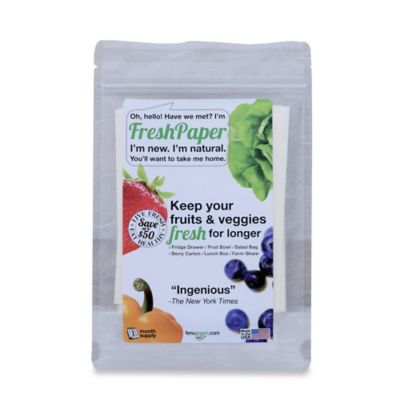 FreshPaper Produce Saver Sheets