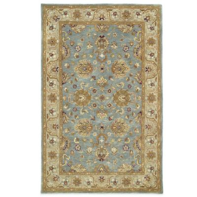 7 9 x 9 9 Brown Wool Rug