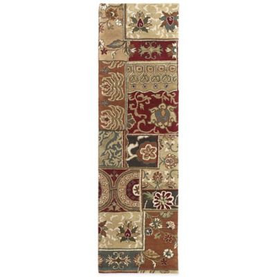 Kaleen Mystic-Aral 2-Foot 3-Inch x 7-Foot 9-Inch Runner in Charcoal
