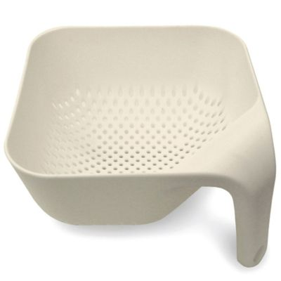 Joseph Joseph® Medium Square Colander in Putty