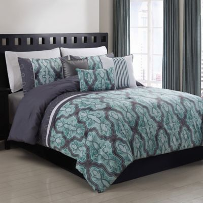 Lorna 5-Piece Twin Comforter Set