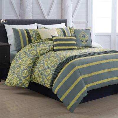 Gunner 5-Piece Twin Reversible Comforter Set